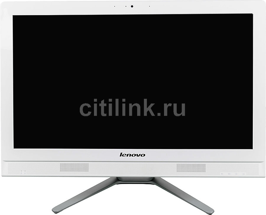Моноблок LENOVO C40-30, Intel Core i3 5005U, 4Гб, 1000Гб, nVIDIA 820 - 2048 Мб, DVD-RW, Windows 10, белый [f0b400u2rk]