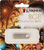 Флешка USB KINGSTON DataTraveler SE9 8Гб, USB2.0, серебристый [kc-u468g-5s] вид 1