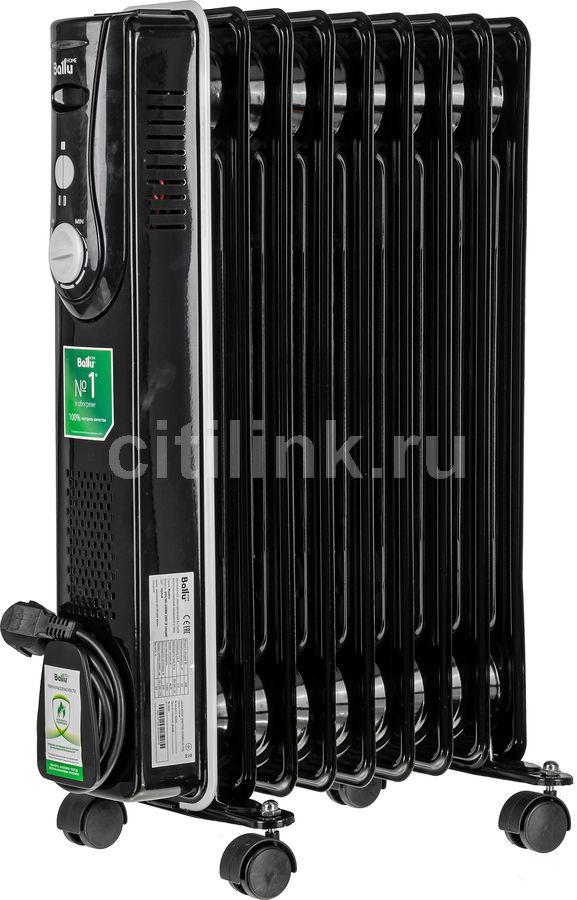 Масляный радиатор BALLU Modern BOH/MD-09BBN, 2000Вт, черный [нс-1071479]