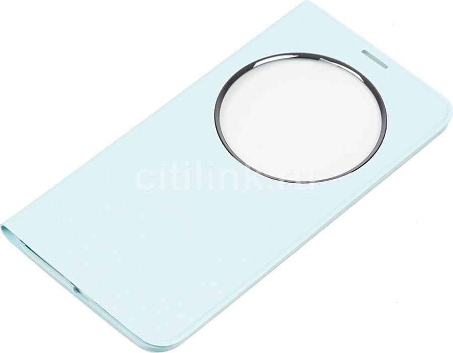 Чехол (флип-кейс) ASUS Deluxe, для Asus ZenFone ZE551ML, синий [90ac00f0-bcv013]