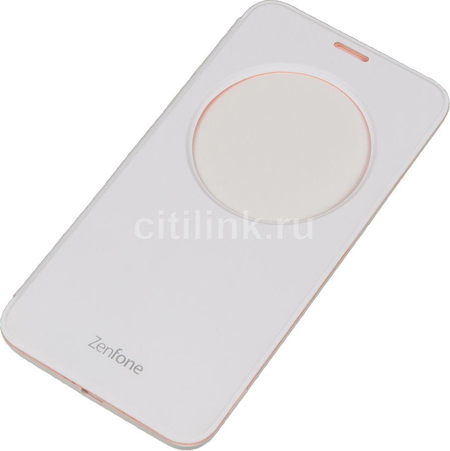 Чехол (флип-кейс) ASUS View Flip Cover, для Asus ZenFone 2 ZE550KL, белый [90ac00r0-bcv002]