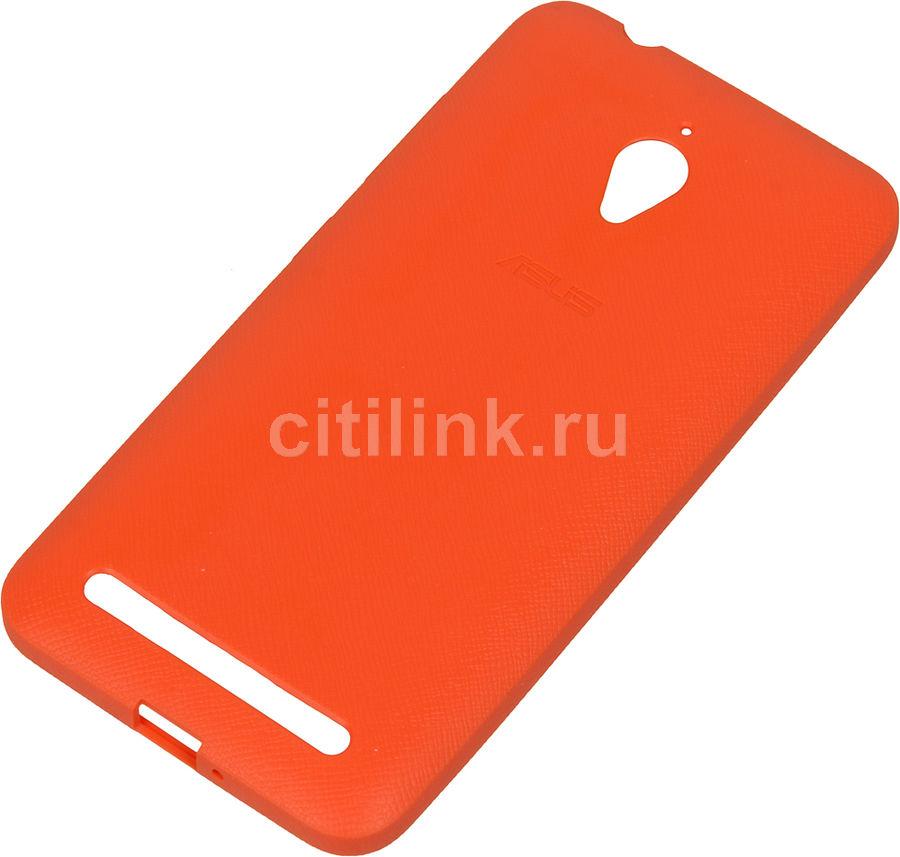 Чехол (клип-кейс) ASUS Bumper Case, для Asus ZenFone GO ZC500TG, оранжевый [90xb00ra-bsl3r0]