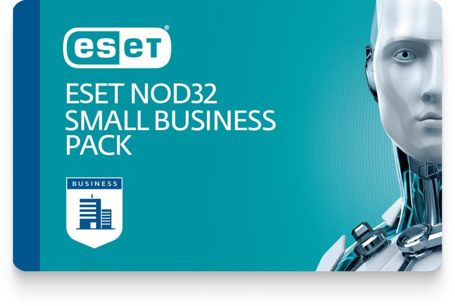 Базовая лицензия (карта) Eset NOD32 NOD32 Small Business Pack newsale for 10 user 1 год (NOD32-SBP-N