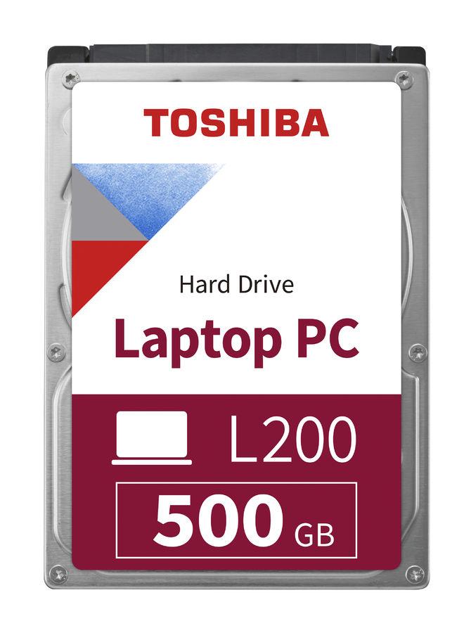 Жесткий диск TOSHIBA L200 HDWJ105UZSVA,  500Гб,  HDD,  SATA II,  2.5