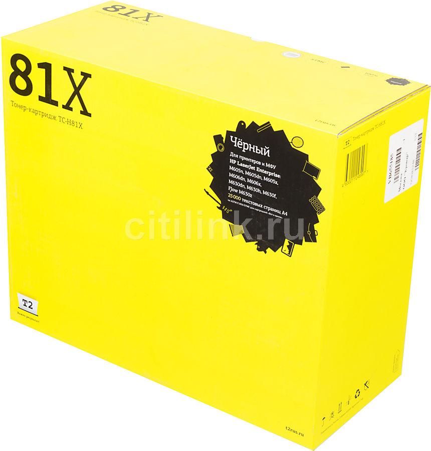 Картридж T2 TC-H81X черный