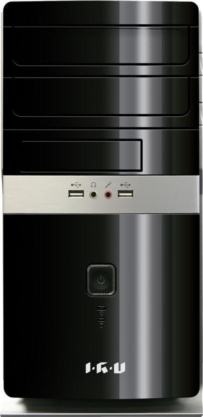 Компьютер  IRU City 319,  Intel  Celeron  G1840,  DDR3 4Гб, 500Гб,  Intel HD Graphics,  Windows 7 Professional,  черный [326013]