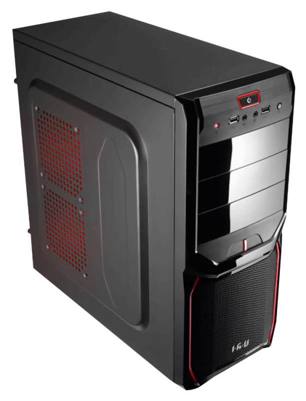 Компьютер  IRU City 719,  Intel  Core i7  4790,  DDR3 16Гб, 2Тб,  Intel HD Graphics 4600,  Windows 7 Professional,  черный [326072]