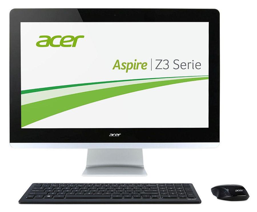 Моноблок ACER Aspire Z3-711, Intel Core i3 4005u, 4Гб, 500Гб, Intel HD Graphics, DVD-RW, Free DOS, черный [dq.b0aer.005]