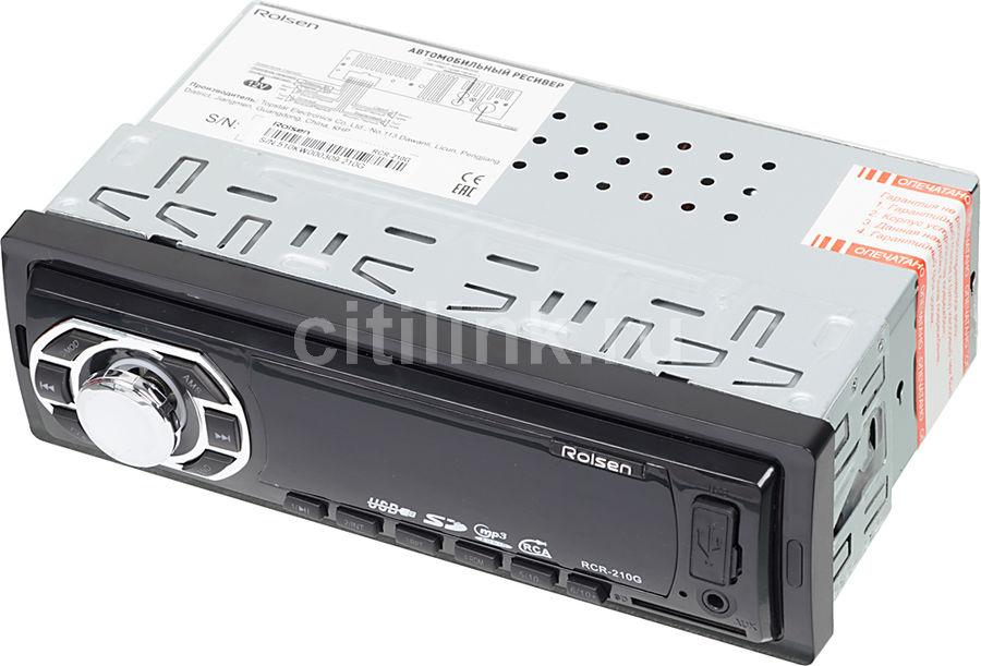 Автомагнитола ROLSEN RCR-210G,  USB,  SD/MMC