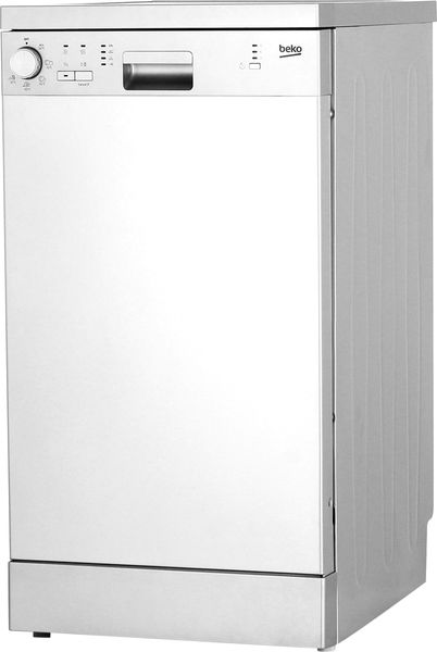 Посудомоечная машина BEKO DFS05010S,  узкая, серебристая