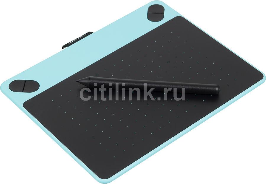 Графический планшет WACOM Intuos Draw Pen S CTL-490DB-N А6 голубой