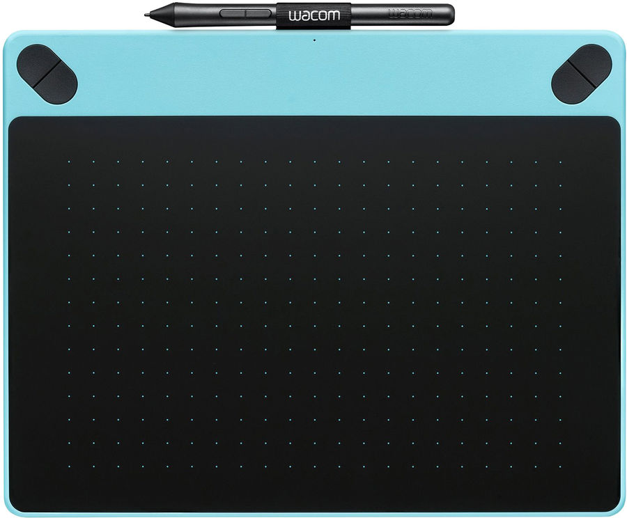 Графический планшет WACOM Intuos Art PT M CTH-690AB-N А5 голубой