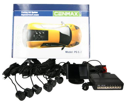 Парковочный радар CENMAX РS-6.2,  черный [рs-6.2 black]