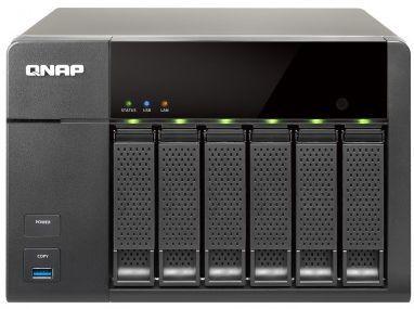 Сетевое хранилище QNAP TS-651-4G,  без дисков