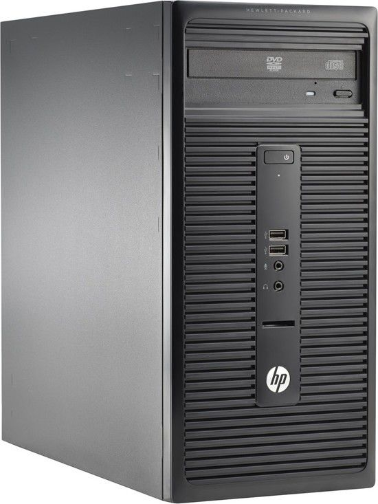 Компьютер  HP 280 G1,  Intel  Core i3  4160,  DDR3L 4Гб, 1000Гб,  Intel HD Graphics 4400,  DVD-RW,  Windows 7 Professional,  черный [n0d80es]