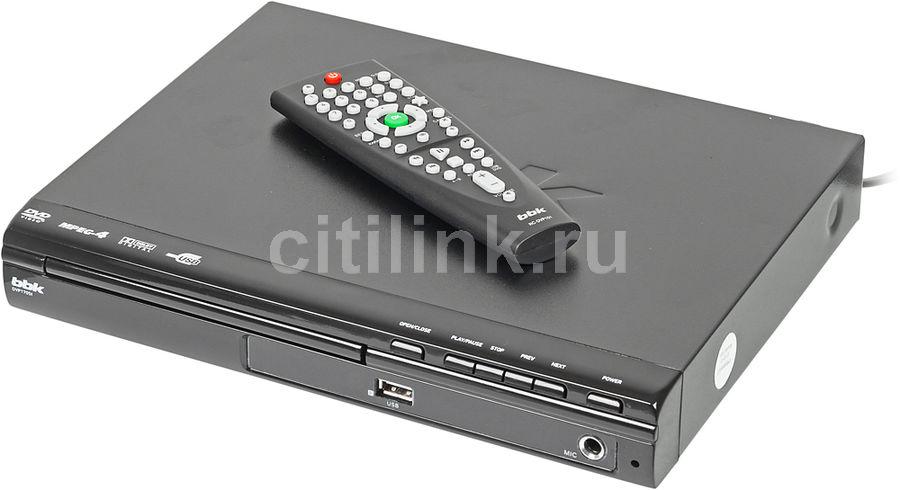 DVD-плеер BBK DVP170SI,  черный