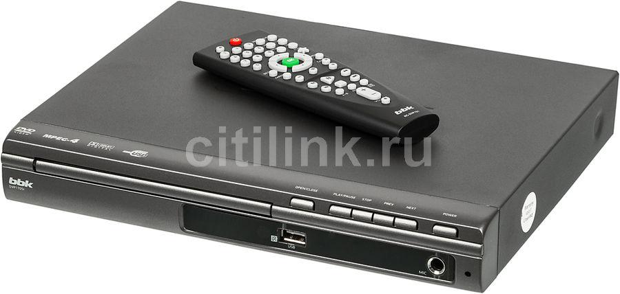 DVD-плеер BBK DVP170SI,  темно-серый