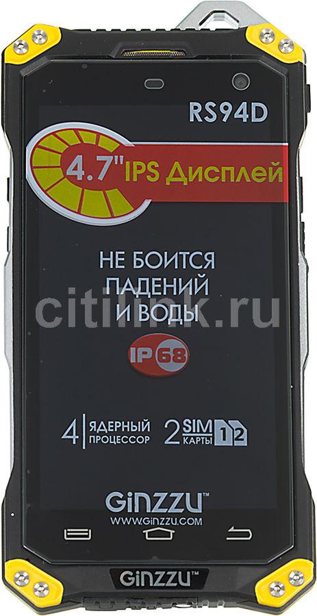 Смартфон GINZZU RS94 DUAL  черный