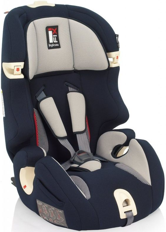 Автокресло детское INGLESINA Prime Miglia AV97E0BLU, 1/2/3, синий/серый