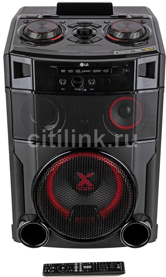 Музыкальный центр LG OM7550K,  черный