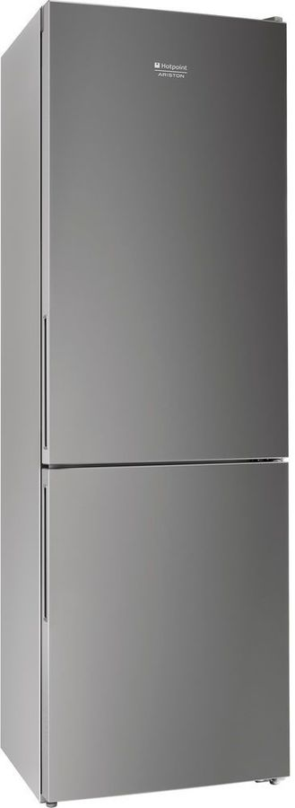 Холодильник HOTPOINT-ARISTON HF 4180 S,  двухкамерный, серебристый