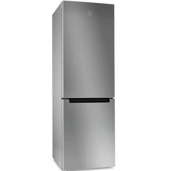 Холодильник INDESIT DFM 4180 S,  двухкамерный,  серебристый