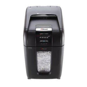 Уничтожитель бумаг REXEL Auto+ 300X,  уровень 4,  P-4,  4х40 мм [2103250eu]