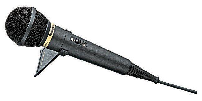Микрофон PANASONIC RP-VK25E9-K,  черный