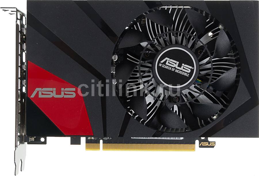 Видеокарта ASUS GeForce GTX 950,  GTX950-M-2GD5,  2Гб, GDDR5, Ret