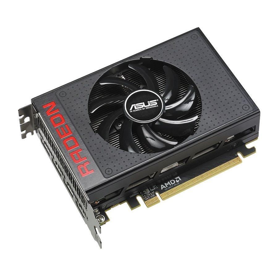Видеокарта ASUS Radeon R9 NANO,  R9NANO-4G,  4Гб, HBM, Ret