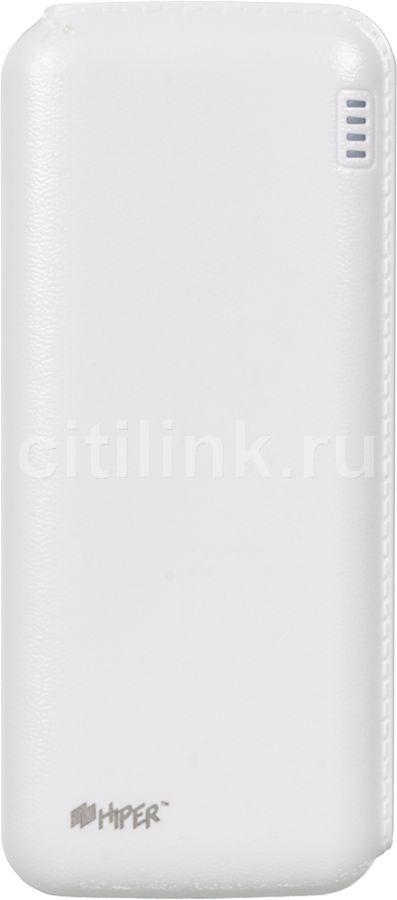 Внешний аккумулятор HIPER SP12500,  12500мAч,  белый [sp12500 white]