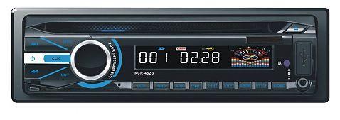 Автомагнитола ROLSEN RCR-452B,  USB,  SD/MMC