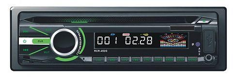 Автомагнитола ROLSEN RCR-452G,  USB,  SD/MMC