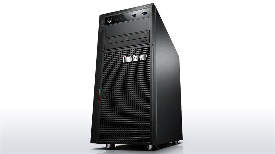Сервер Lenovo ThinkServer TS440 1xE3-1276v3 1x8Gb x2 3.5
