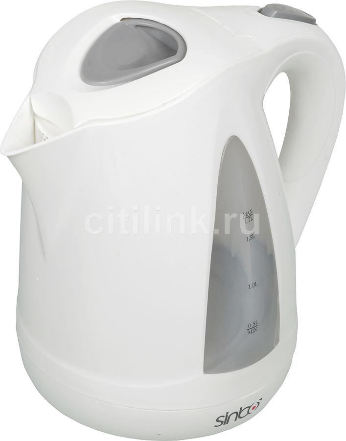 Чайник электрический SINBO SK 7324, 2000Вт, белый