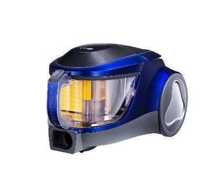 Пылесос LG VK76103H, 2000Вт, синий