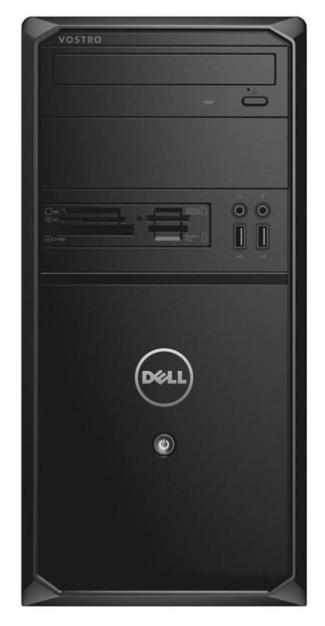 Компьютер  DELL Vostro 3900,  Intel  Core i5  4460,  DDR3 4Гб, 1000Гб,  Intel HD Graphics 4600,  DVD-RW,  CR,  Windows 7 Professional,  черный [3900-7535]