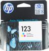 Картридж HP 123 многоцветный [f6v16ae] вид 1