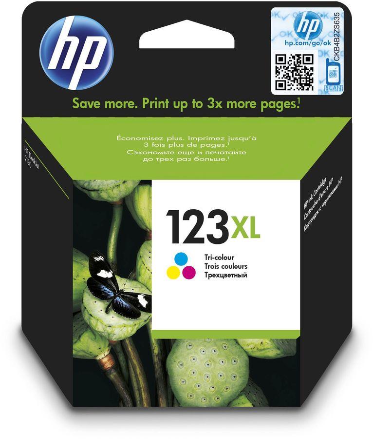 Картридж HP 123XL многоцветный [f6v18ae]