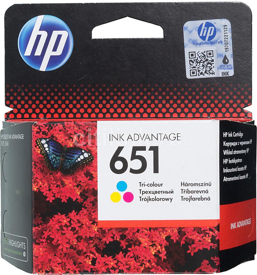 Картридж HP 651 многоцветный [c2p11ae]