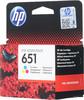 Картридж HP 651 многоцветный [c2p11ae] вид 3