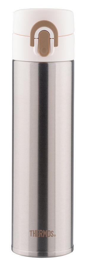 Термос THERMOS JNI400-SL, 0.4л, серебристый/ белый