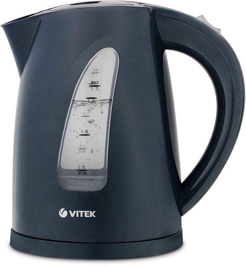 Чайник электрический VITEK VT-1164, 2200Вт, серый