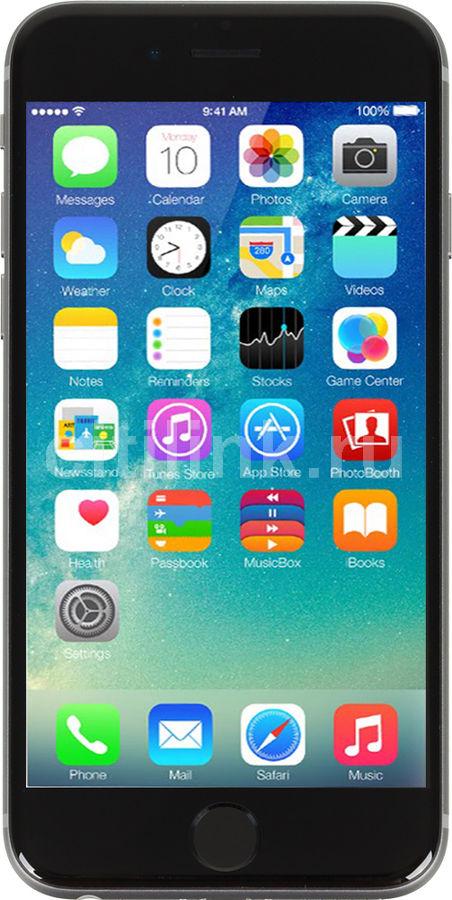 Смартфон APPLE iPhone 6s MKQN2RU/A  64Gb, серый