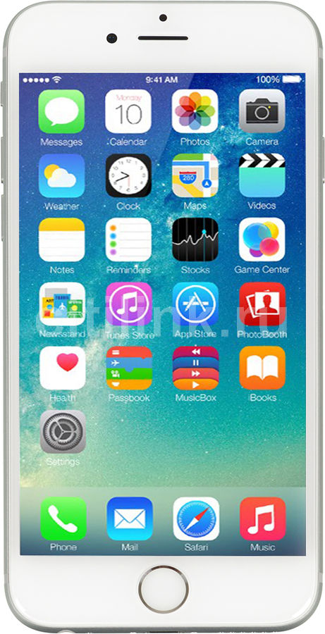 Смартфон APPLE iPhone 6s MKQP2RU/A  64Gb, серебристый