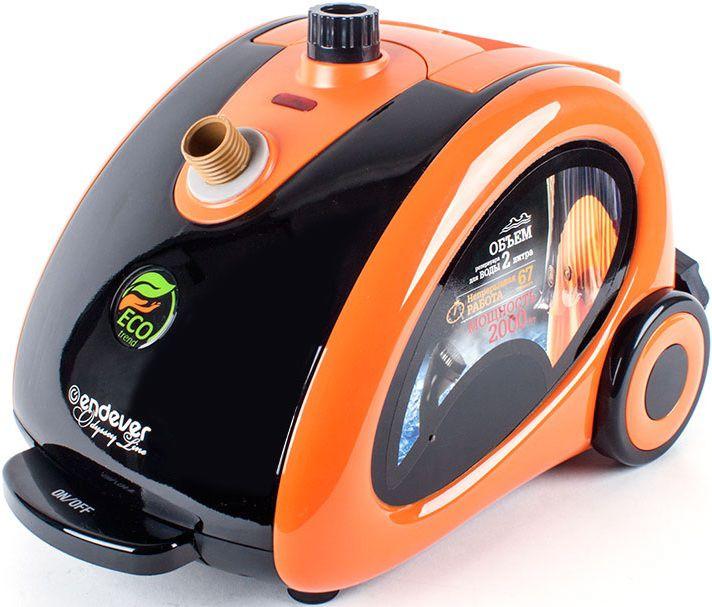 Отпариватель ENDEVER Q-506,  оранжевый  / черный [60112]