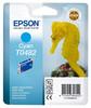 Картридж EPSON T0482, голубой [c13t04824010] вид 1