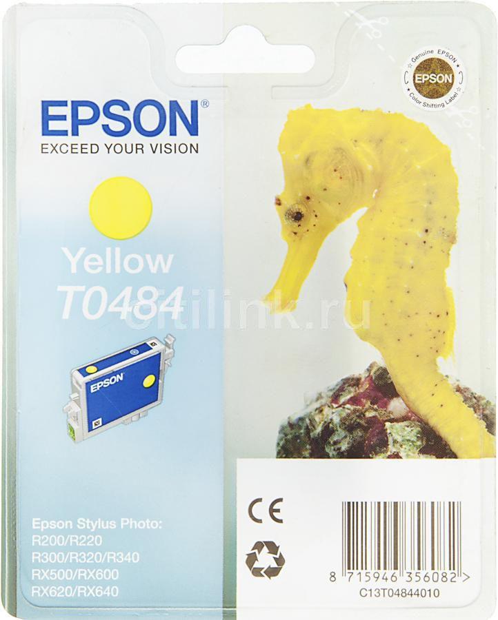 Картридж EPSON T0484 желтый [c13t04844010]