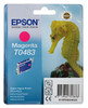 Картридж EPSON T0483, пурпурный [c13t04834010] вид 1