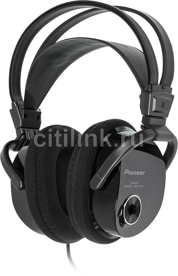 Наушники PIONEER SE-M531, мониторы,  черный, проводные